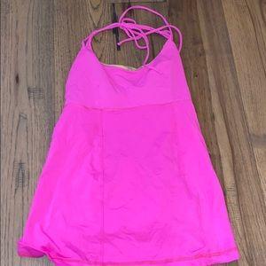 Lululemon Pink Tank Top